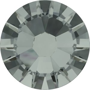 Swarovski hotfix steentjes kleur Black Diamond (215) SS 12