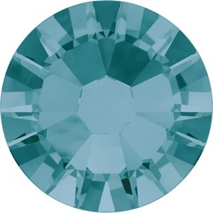 Swarovski hotfix steentjes kleur Blue Zircon (229) SS34