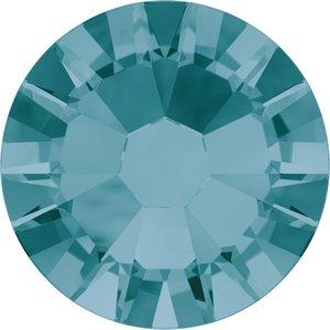 Swarovski hotfix steentjes kleur Blue Zircon (229) SS 10
