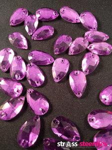naaistenen druppel kleur paars