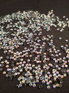 4500 Hotfix steentjes DMC kwaliteit SS 10 Kleur Crystal AB ACTIE
