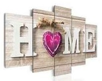 Home Paars Hart