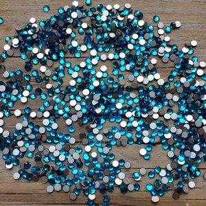 Capri Blue SS 5 Excellent Austrian kwaliteit non-hotfix plakstenen