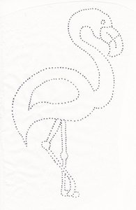 Hotfix Patroon Flamingo