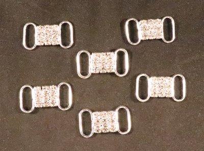 Non hotfix kleine Bikini connector (per 2 stuks) 103