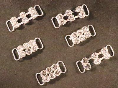 Non hotfix kleine Bikini connector (per 2 stuks) 105