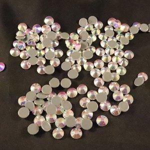 Crystal AB SS 40 Superior Glamour kwaliteit Hotfix steentjes
