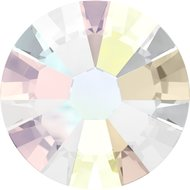 Swarovski hotfix steentjes kleur Crystal ab (001AB) SS40