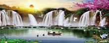 Watervallen 20X50 cm